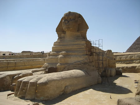 Great Sphinx of Giza Plateau, Egypt