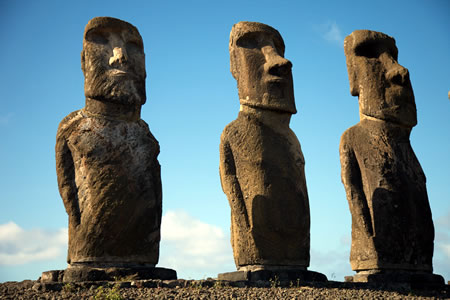 ancient builders Moai Easter Island megalithic