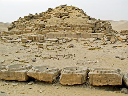 basins Abu Gorab Sun Temple of Niuserre Ini