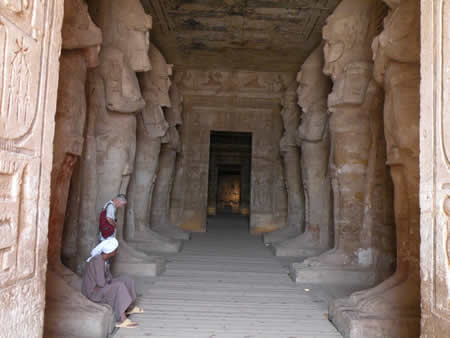 Great Temple Abu Simbel Egypt