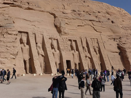 Great Temple Abu Simbel Egypt megalithic
