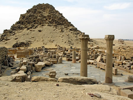 Necropolis Abusir Egypt