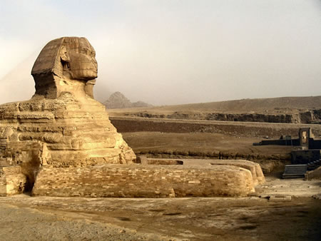 Great Sphinx Egypt megalithic