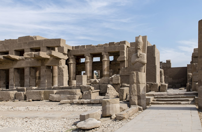 Karnak Temple Complex Thebes Egypt Megalithic Builders