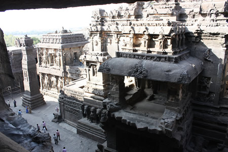 Kailash Temple Ellora India megalith