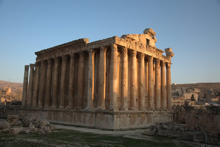 Baalbek Temple of Bacchus