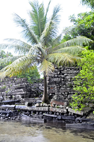 Nan Madol Pohnpei Micronesia megalithic structures