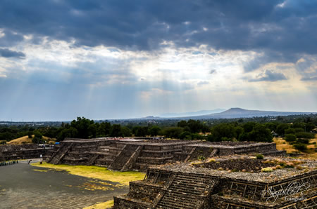 Teotihuacan pyramid Complex Mexico